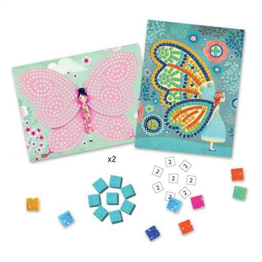 Penová mozaika - Motýle 2