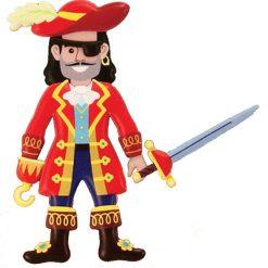 Penové nálepky - Piráti 4