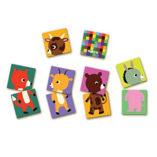 Pexeso animo puzzle 2