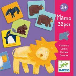 Pexeso Zvieratá a farby 1