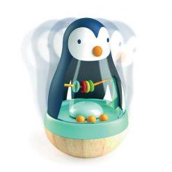Pre najmenších - Drevený tučniak so zvukom 1