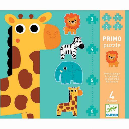 Primo puzzle pre najmenšich - Džungľa 1