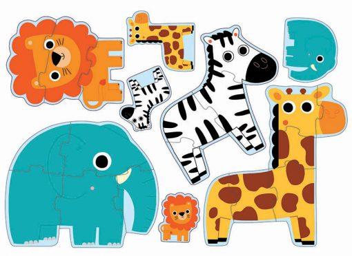 Primo puzzle pre najmenšich - Džungľa 2
