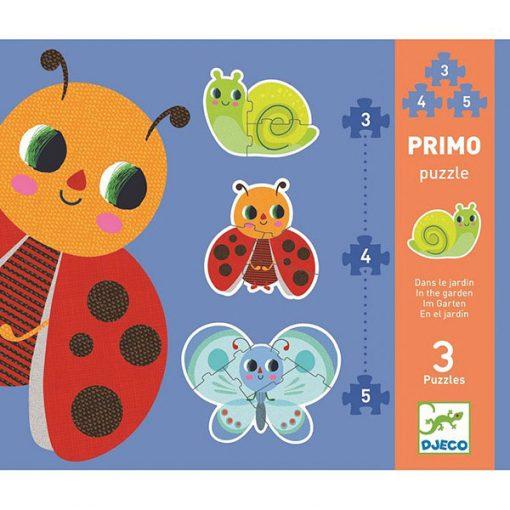 Primo puzzle pre najmenších V záhradke 1