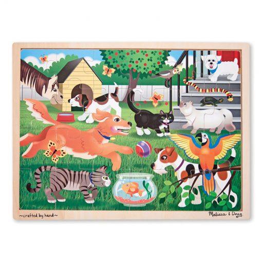 Puzzle - Domáce zvieratá (24 ks) 1