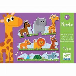 Puzzle duo - Malé a veľké 1