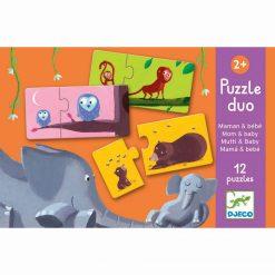 Puzzle duo - Mama a bábätko 1