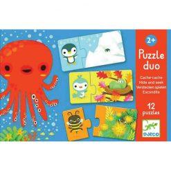 Puzzle duo Skrývačka 1
