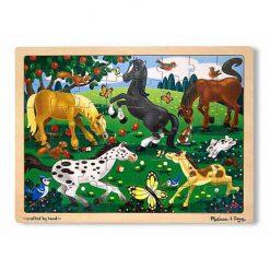 Puzzle - Koníky na lúke (48 ks) 1