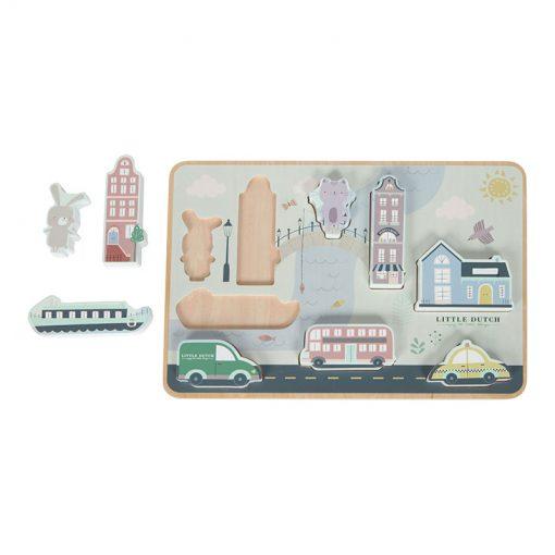 Puzzle Mesto 3