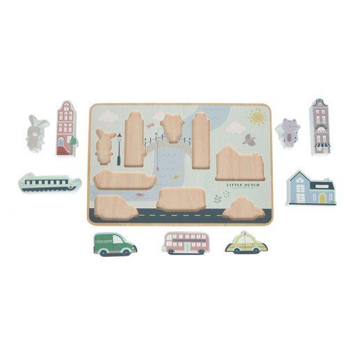 Puzzle Mesto 4