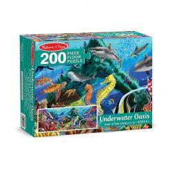 Puzzle na podlahu - Podmorská oáza (200 ks) 1