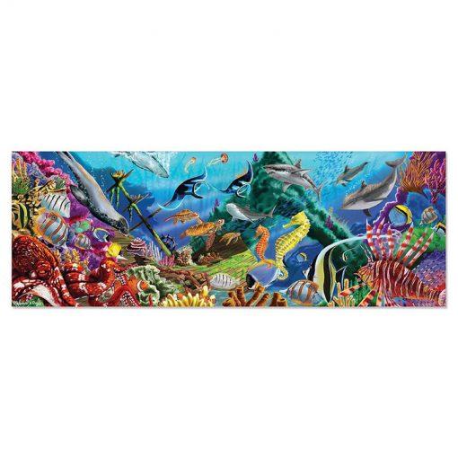 Puzzle na podlahu - Podmorská oáza (200 ks) 2