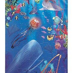 Puzzle na podlahu - Podmorský svet (100 ks) 2