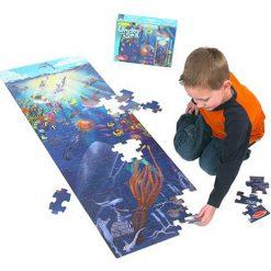 Puzzle na podlahu - Podmorský svet (100 ks) 3