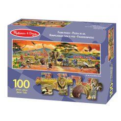 Puzzle na podlahu - Safari (100 ks) 1