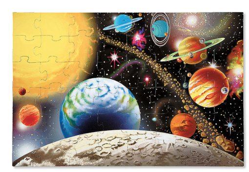 Puzzle na podlahu - Slnečná sústava (48 ks) 2