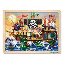 Puzzle - Pirátske dobrodružstvo (48 ks) 1