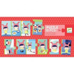 Puzzle trio - Deň 1