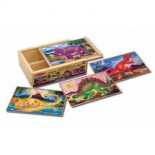 Puzzle v krabici - Dinosaury 1