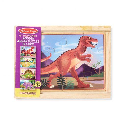 Puzzle v krabici - Dinosaury 2