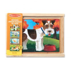 Puzzle v krabici - Domáce zvieratá 2