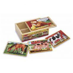 Puzzle v krabici - Farma 1