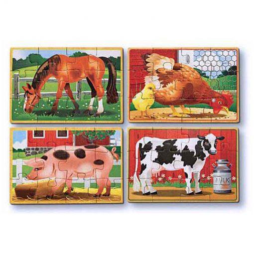 Puzzle v krabici - Farma 2