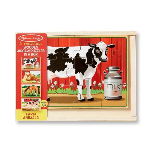Puzzle v krabici - Farma 3