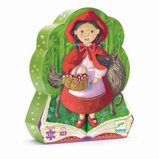 Puzzle v tvarovanom balení - Červená čiapočka 1