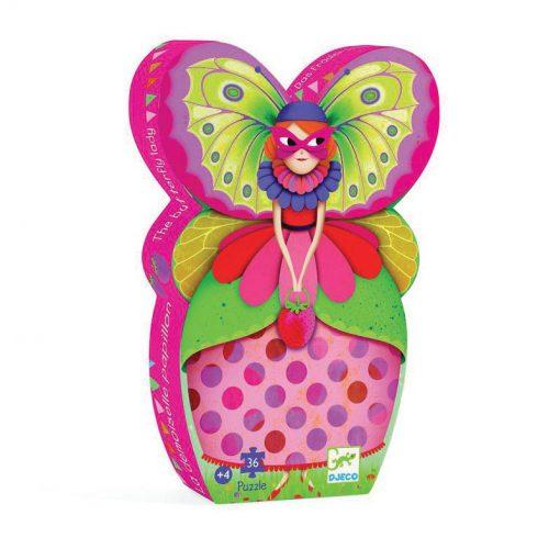 Puzzle v tvarovanom balení - Motýlia dáma 1