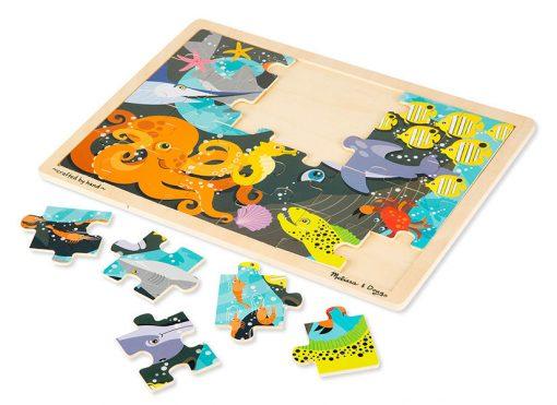 Puzzle - Vodný svet (24 ks) 2