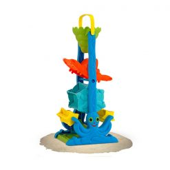 Sada do piesku - Zábavný lievik Morské tvary 1
