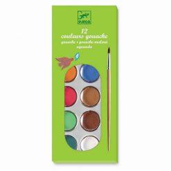 Sada vodových farieb - Základné farby (12 ks) 1