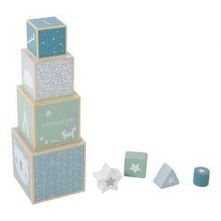 Skladajúca veža - modrá 1