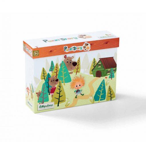 Smart Wonders - Príbehové puzzle - Zlatovláska a tri medvede 3