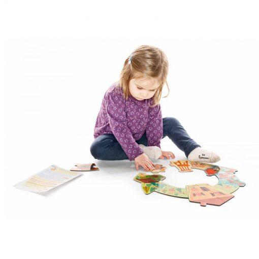 Smart Wonders - Príbehové puzzle - Zlatovláska a tri medvede 4