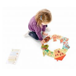 Smart Wonders - Príbehové puzzle - Zlatovláska a tri medvede 5