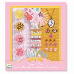 Šperková kreatívna sada - Perly a kvetinky 1