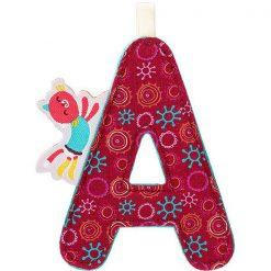 Textilné písmeno A 1