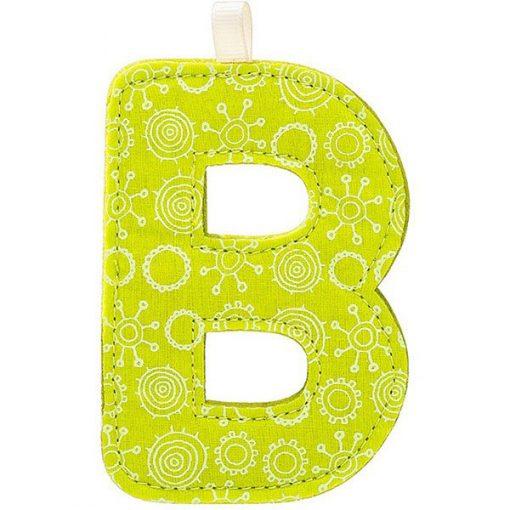 Textilné písmeno B 1