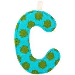 Textilné písmeno C 1