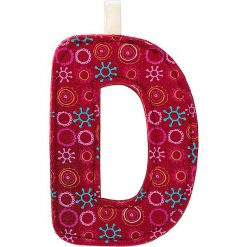 Textilné písmeno D 1