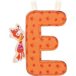 Textilné písmeno E 1