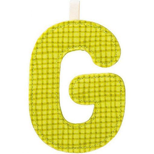 Textilné písmeno G 1
