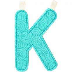Textilné písmeno K 1