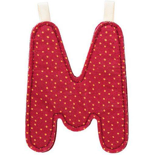 Textilné písmeno M 2