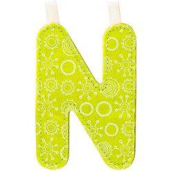 Textilné písmeno N 1