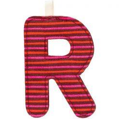 Textilné písmeno R 1