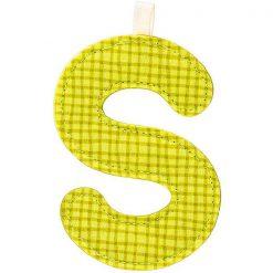 Textilné písmeno S 1